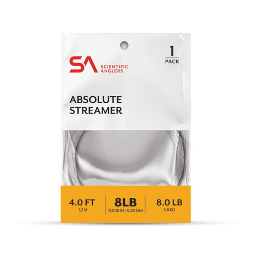 SCIENTIFIC ANGLERS - ABSOLUTE STREAMER LEADERS